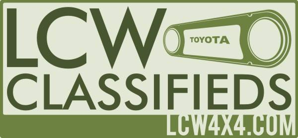 LCW4X4 - The Official Land Cruiser World Classifieds
